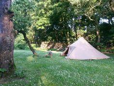 Prachtig, rustige kampeerplaats bij camping Kiekendief tijdens Uit-jeTent Weekend in Noordoostpolder