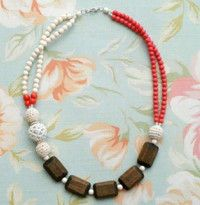 Beaded Boutique Statement Necklace