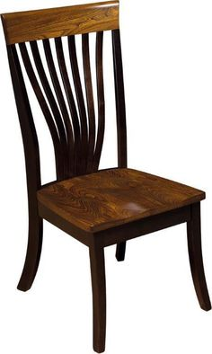 Amish Christy Fanback Chair Barkman Furniture Collection The Amish Christy Fanback Chair is a customer favorite. Its beautiful two-wood construction and two-tone finish combine to bring style an