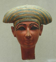 Mask of Coffin of Pakherenkhonsu.Late Period, Kushite Dynasty c. Upper Egypt, Thebes,Khokha,Tomb of Aafenmut. Egyptian Mask, Egyptian Mummies, Ancient Egyptian Art, Ancient Aliens, Egyptian Mythology, Egyptian Goddess, Ancient Greece, Historical Artifacts, Ancient Artifacts