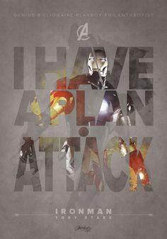 The Avengers . Iron Man Quote