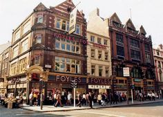 Foyles in the early 70s - every half term holiday we would go to London and I would stock up on myPaddington books.