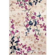 """FREE SHIPPING AVAILABLE! Buy Loft Blossoms 3'3""""x5' Rectangle Rug at JCPenney.com today and enjoy great savings. Available Online Only!"""