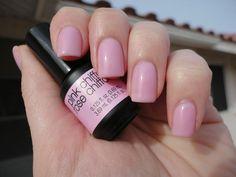 Pink Chiffon Gel Color by SensatioNail: http://www.sensationail.com/p/colors/gel-color/pink-chiffon/ #sensationail