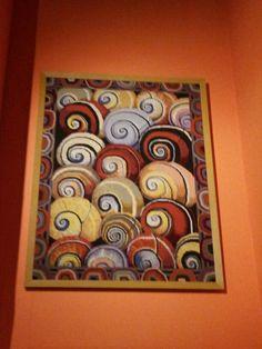 Seashell tapestry-Kaffe Fassett.