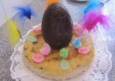 Mona de Pascua, Pastel de Yema Quemada