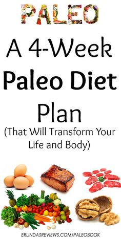 Grab 4 Weeks of Paleo Meal Plans, Grocery Lists, and Meal Planning Guide Guaranteed To Transform You