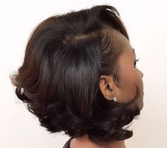 Love the soft natural bounce of this Bob.
