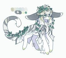 ~MYO Yenomi~ Emerald Ivy by LunarAdopts on DeviantArt Cute Fantasy Creatures, Mythical Creatures Art, Cute Creatures, Magical Creatures, Cute Animal Drawings Kawaii, Kawaii Drawings, Cute Drawings, Fantasy Character Design, Character Art