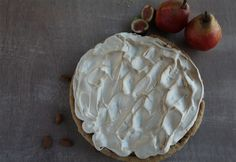Autumn Recipe Competition Winner - Chris Hunt's Pear, Fig and Ginger Meringue Flan Seasonal Fruits, Fruit In Season, Flan, Meringue, Fall Recipes, Autumn Leaves, Competition, Delicate, Sweet