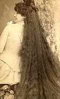 FAMOUS LADIES WITH LONG HAIR: The Seven Sutherland Sisters