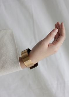 we assemble limited edition collections of elevated lifestyle essentials @ minimalism.co #minimal #style — Metallic Cuff
