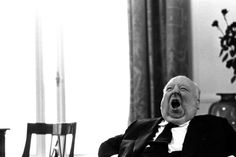 Alfred Hitchcock, 1960s  via periodomiawallace