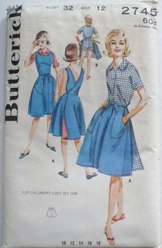 Vintage Woman's Sewing Pattern  Wrap Skirt Wrap by Shelleyville, $8.00