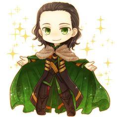 Loki in Green Suit || Cr: ソラ