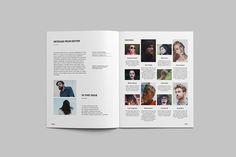 Gundull Clean Magazine Template on Behance