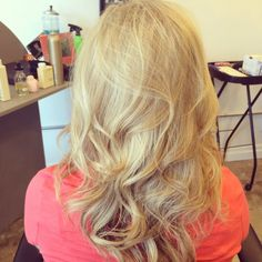 Blonde By: Nicolette Redinger @ Poppy An Eco-Friendly Salon And Spa, Pullman WA. Http://www.salonpoppy.com