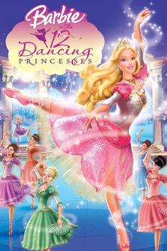 Barbie In the 12 Dancing Princesses Poster Artwork - Kelly Sheridan, Catherine O