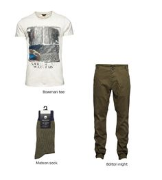 The neutral tones are the chicest color combinations for Spring!  #spring #color #combination #neutral #tone #look #style #fashion #outfit #men #boy #pants #tshirt #tee #sock #clothes