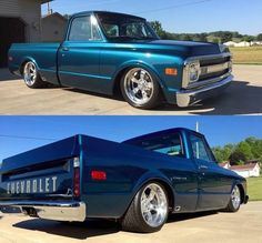 67 72 Chevy Truck, Chevy C10, Chevy Pickups, Chevrolet Trucks, C10 Trucks, Mini Trucks, Hot Rod Trucks, Classic Pickup Trucks, Vintage Trucks