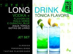 Fast Long Drink, Flavors