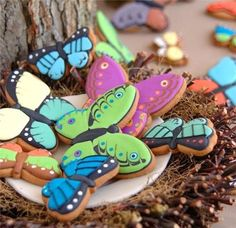 Don't think mine will ever look like this, but  I bought a butterfly cookie cutter this weekend!