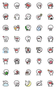 chibimaro chan – LINE Emoticón Emoji Drawings, Easy Doodles Drawings, Cute Cartoon Drawings, Simple Doodles, Kawaii Doodles, Cute Doodles, Cute Doodle Art, Cute Art, Cute Small Drawings