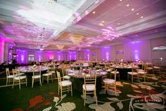 Our MN Valley Ballroom - 7,500 square feet and 16' ceilings with two beautiful chandeliers.