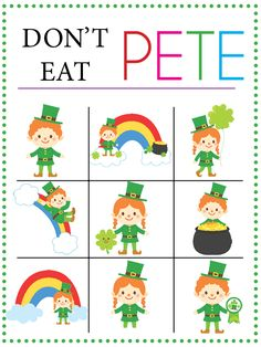 Don't Eat PETE – St. Patrick's Day Edition - Over the Big Moon