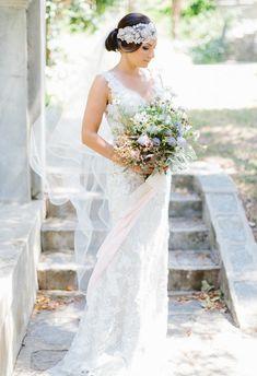 Bridal veil from Bel Air