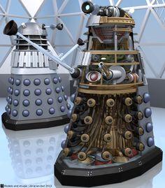 A Dalek Cutaway by Librarian-bot.deviantart.com on @deviantART