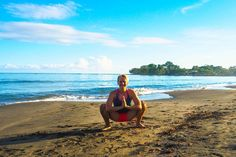 Good morning from beautiful Puerto Viejo! Enjoy a beautiful day  #yoga #mypractice #morning #puravida #lifelover #igerseurope #personaltrainer #fitnessblogger #austrianblogger #igersaustria