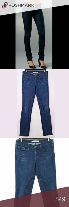 """J Brand Suzuki Equestrian Skinny Jeans Size: 26  New without tags.  Measurements were taken with garment laying flat and are approximate:  Rise: 7.25""""  Waist: 14.5"""" across  Inseam: 30""""  Inv1502 J Brand Jeans Skinny"""