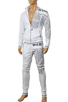 Mens Designer Clothes | GUCCI Men's Zip Up Tracksuit #104; $199.99 ...