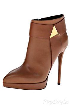 Giuseppe Zanotti Italian Leather Ankle Boot
