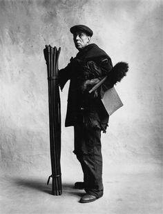 Chimney Sweep (D), London, 1950 by Irving Penn