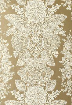 Lace Wallpaper | Avant Garde Wallpaper | Schumacher Wallpaper Australia