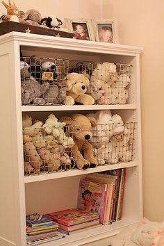 Stuffed toy storage
