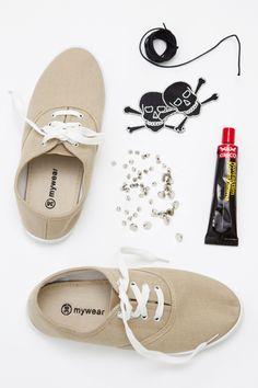 Hildas hem: PYSSELTIPS: Pimpa dina skor Limma, Casco, shoes
