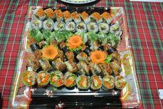 eel sushi set Cookie order it