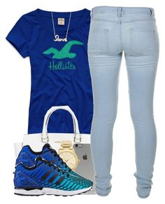 2/27/16 by polyvoreitems5 on Polyvore featuring Hollister Co., Marc by Marc Jacobs, Michael Kors, Sydney Evan and Incase