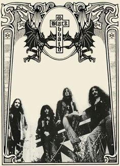 by Maia Valenzuela Rock Posters, Band Posters, Ozzy Osbourne Black Sabbath, Musica Metal, Rockabilly Cars, Music Album Covers, Rockn Roll, Heavy Metal Bands, Rock Legends