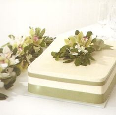 Simple Wedding Cake...for S?