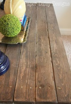DIY Reclaimed Wood table/Paper Daisy Design.com