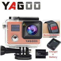 59.00$  Watch here - http://alif9u.worldwells.pw/go.php?t=32782823922 - original YAGOO camera de acao esporte camera a prova d agua camera 1080 P 30fps mini wi fi cam pro sports gopro hero 4