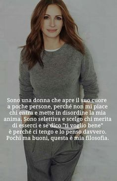 Discover recipes, home ideas, style inspiration and other ideas to try. Italian Quotes, Julia Roberts, Einstein, Decir No, Psychology, Love, Feelings, Sayings, Inspiration