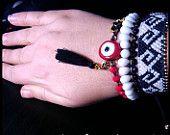 #Macramebracelet#set#friendshipbracelet#evileye#bracelet#beadedbracelet#Bohobracelets#μακραμέ# βραχιόλια με χάντρες
