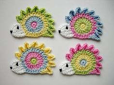 Crochet Applique Patterns Free, Doily Patterns, Crochet Patterns For Beginners, Crochet Motif, Crochet Yarn, Crochet Flowers, Crochet Stitches, Knitting Patterns, Crochet Crafts