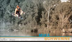 Mike Schwenne! One of the many amazing wakeboarders participating in the Hyperlite Wakeboard Experience!