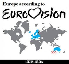 Europe According To Eurovision...#funny #lol #lolzonline
